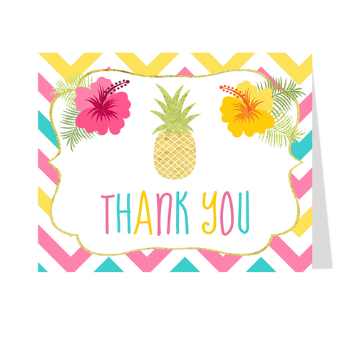 Aloha Thank You Card