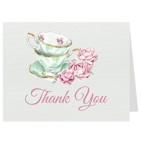 Bridal Tea Thank You Card