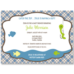 Catch the Joy Baby Shower Invitation