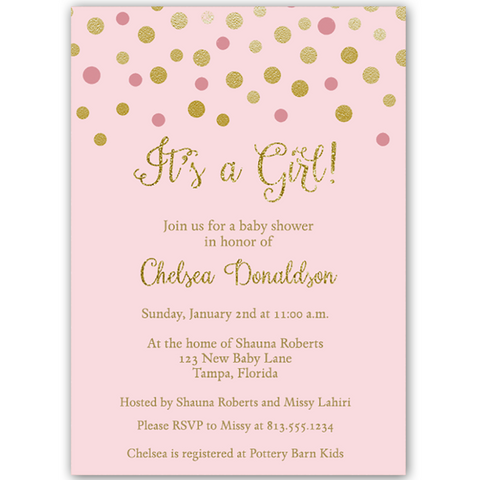 Baby Shower Invitations tagged sparkleshine The Invite Lady