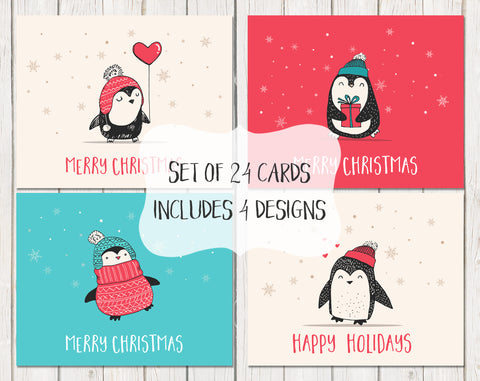 Waddles The Penguin Christmas, Variety Pack 24