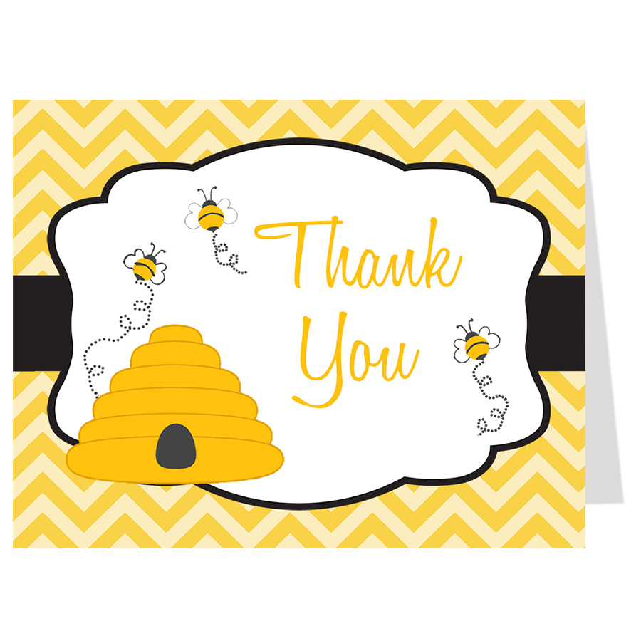 Hives and Bees Thank You Card