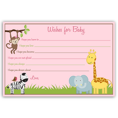 Jungle Jill Baby Shower Invitation
