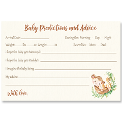 Mommy and Me Monkey Baby Shower Invitation