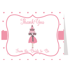 Lots of Love Pink Bridal Shower Invitation