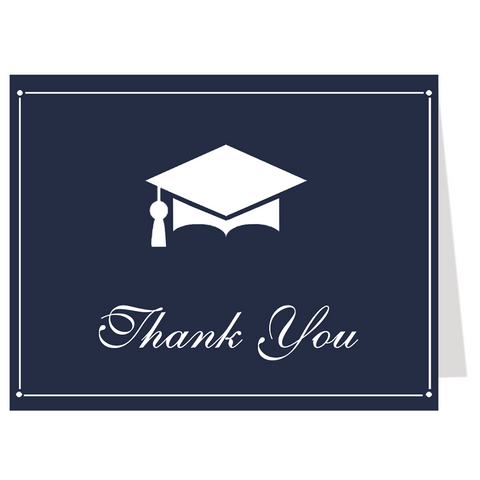 Regal Graduation Thank You Card
