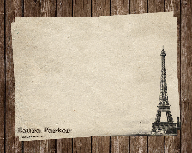 The Tower Personalized NoteCard