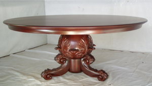 Acanthus Carved Round Table