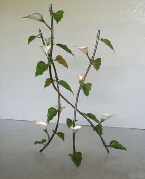Calla Lyly Floor Lamp Sculpture