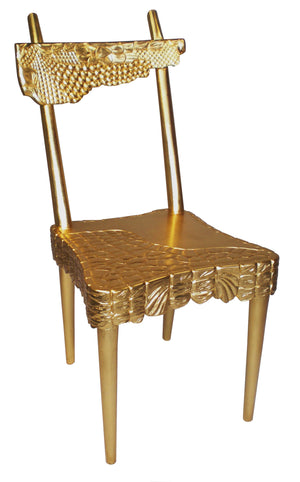 Golden Croc Chair