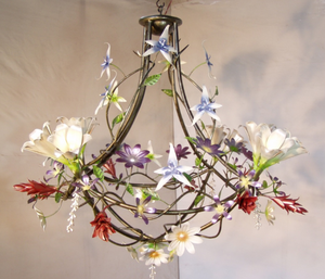 Garland Flower Chandelier