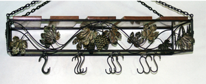 Square Pot Rack