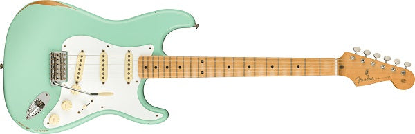 Vintera Road Worn® '50s Stratocaster®, Maple Fingerboard, Surf Green