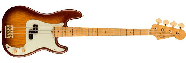 MODEL: 0177552833 75TH ANNIVERSARY COMMEMORATIVE PRECISION BASS®, MAPLE FINGERBOARD, 2-COLOR BOURBON BURST