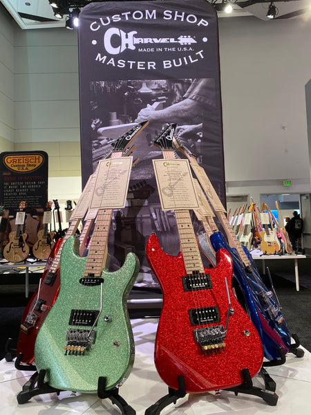 Charvel Custom guitars namm 2020 the music zoo