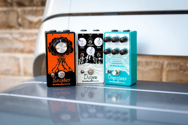 Get Free Earthquaker Devices Swag With Select Effects Pedal Purchases