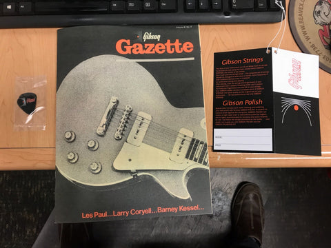 1968 Les Paul Custom Gazette