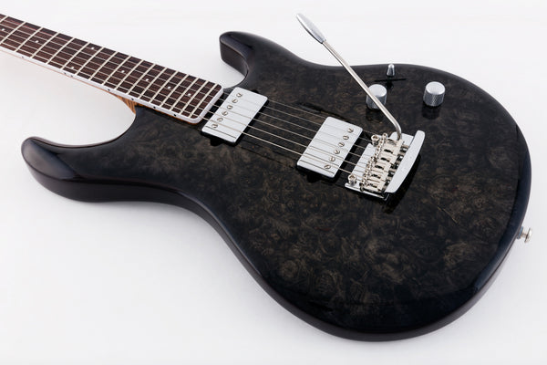 Luke III Black Burl Top