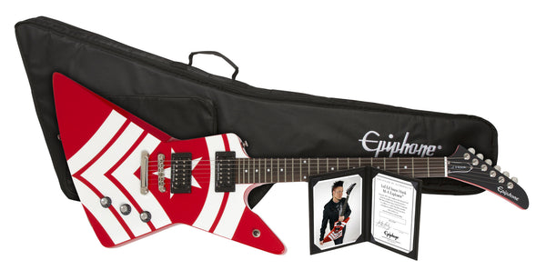 New Epiphone Jason Hook Signature Explorer Outfit Available for Pre-Order Now!