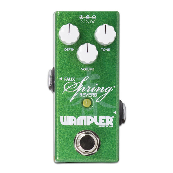 Wampler Launches New Mini Faux Spring Reverb Pedal