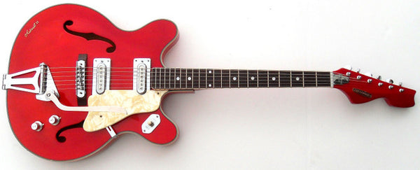 Eastwood Introducing Jack White Inspired Crestwood Astral II Guitar