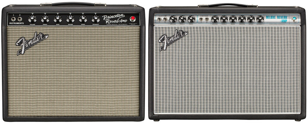 Fender Unveils Limited Edition '65 Princeton Reverb & Creamback Loaded '68 Deluxe Reverb Amps