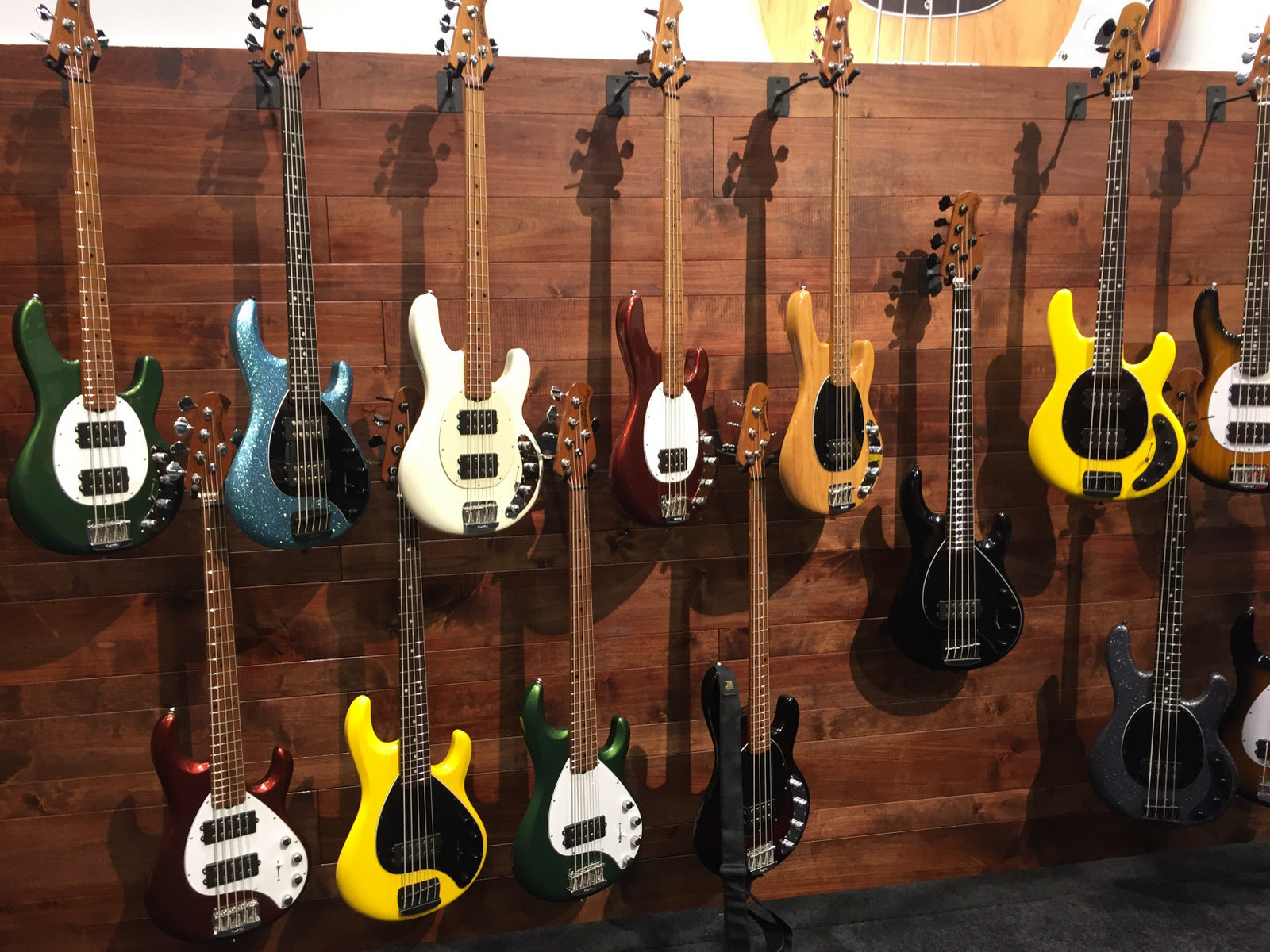 Namm 2018 The Ernie Ball Music Man 2018 Collection The Music Zoo