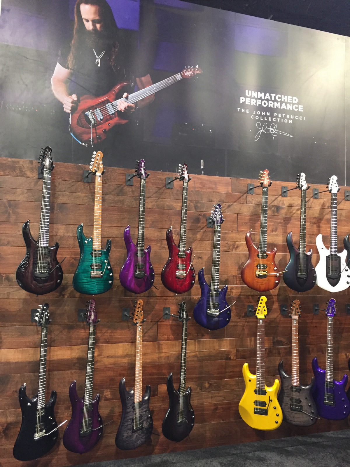 namm 2018 the ernie ball music man 2018 collection the music zoo. Black Bedroom Furniture Sets. Home Design Ideas