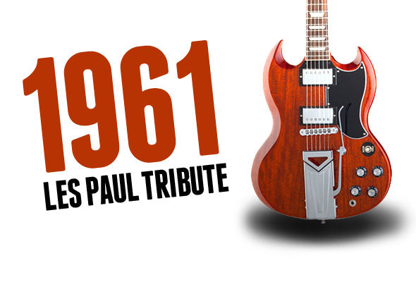 Pre-Order The New Gibson 1961 Les Paul Tribute