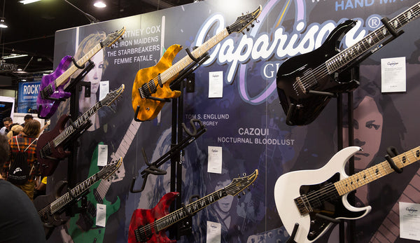 Caparison Shows New Models at NAMM 2019!