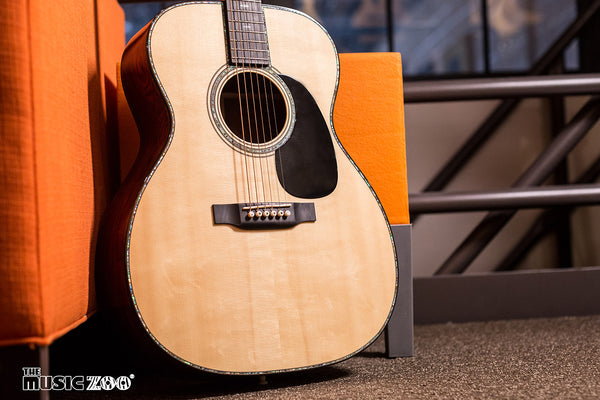 Out of the Case - Five Martin Custom Shop Guitars!