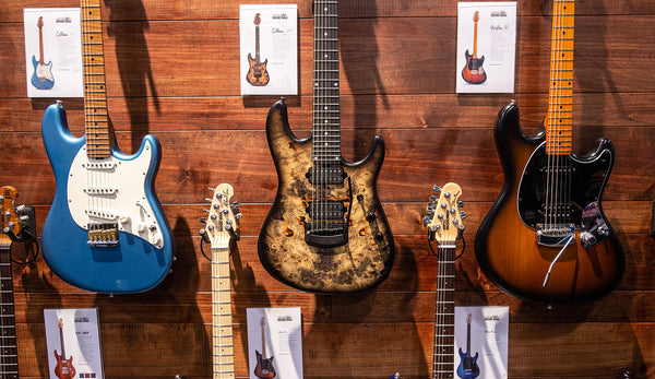 Music Man Reveals New Models at NAMM 2019!