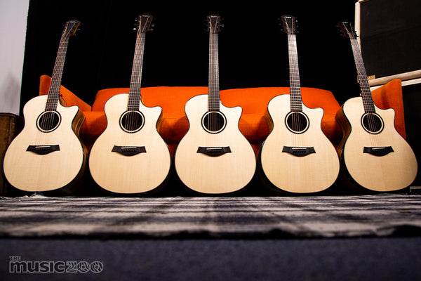 Music Zoo 25th Anniversary Limited Edition Taylor Custom Shop Grand Auditorium Models!