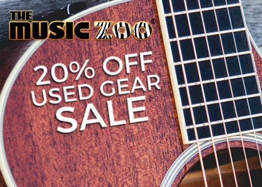 20% Off Used Gear Sale – Select Items Marked Down Now