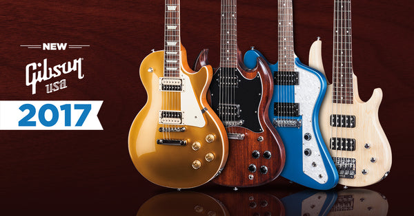Gibson 2017 Lineup the music zoo