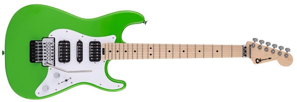 Pro-Mod So-Cal Style 1 HSH FR M, Maple Fingerboard, Slime Green