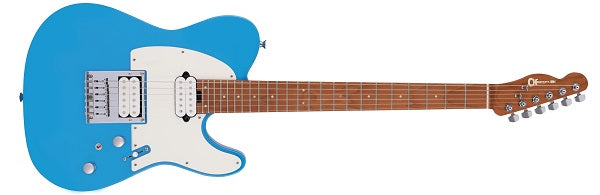Pro-Mod So-Cal Style 2 24 HT HH CM, Caramelized Fingerboard, Robin's Egg Blue