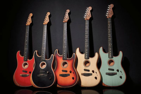 NAMM 2020 Fender Announces New Acoustasonic Stratocasters - Made in the USA!