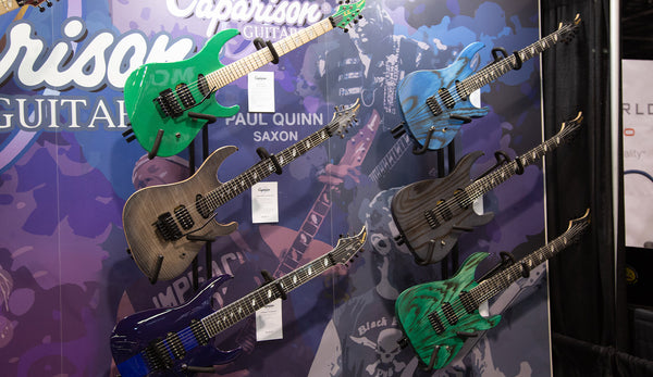 Caparison Guitars NAMM 2019 - The Music Zoo