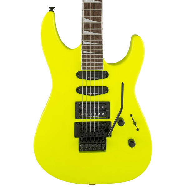 Jackson X-Series Soloist Neon Yellow - The Music Zoo