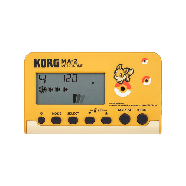 Korg Announces Pokemon Limited Edition Pitchclip Tuners and MA-2 PK/EV Metronomes!
