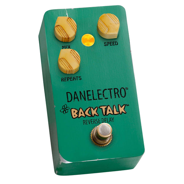 NAMM 2020: Danelectro Reissues The Legendary Back Talk Reverse Delay Pedal! Pre-Order Now!