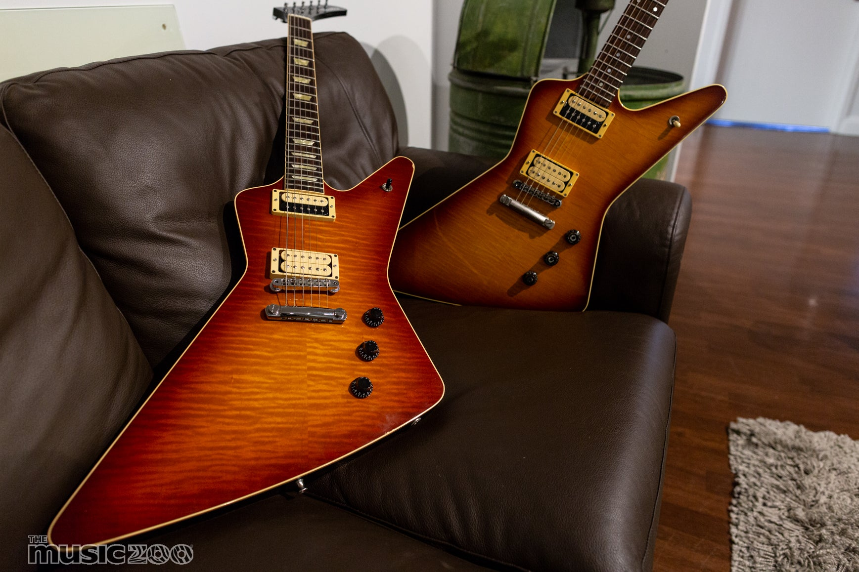 Out of the Case: Vintage Hamer Standard Photo Gallery   The