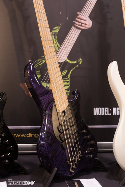 Dingwall Basses at NAMM 2018