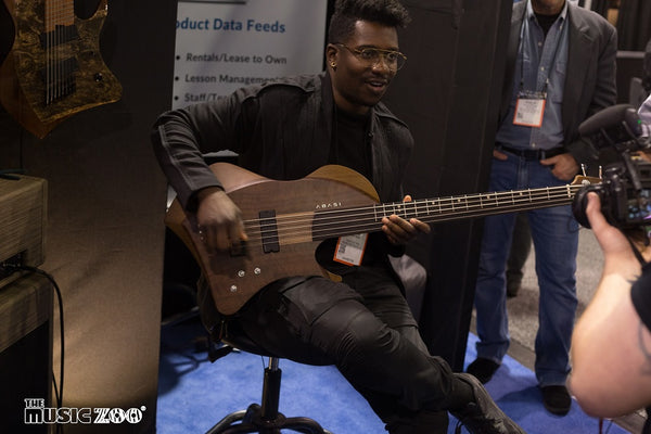 Abasi Guitars Bass Guitar NAMM 2018