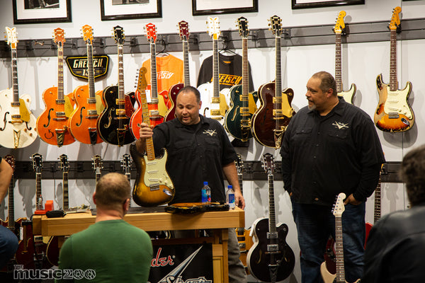 2019 Fender Custom Shop Road Show at The Music Zoo