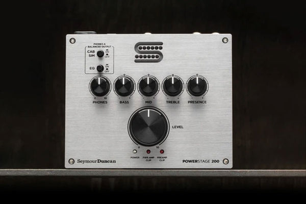 NAMM 2020 Seymour Duncan Powerstage 200 & Polaron Phase Shifter Pedals Announced!