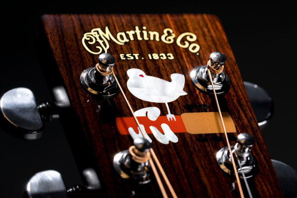 Martin Guitars DX Woodstock 50th Anniversary NAMM 2019 - The Music Zoo