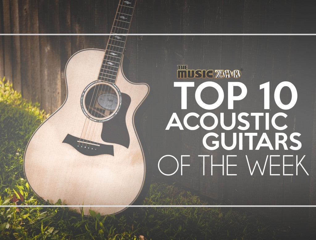 This Week's Top 10 Acoustic Guitars At The Zoo