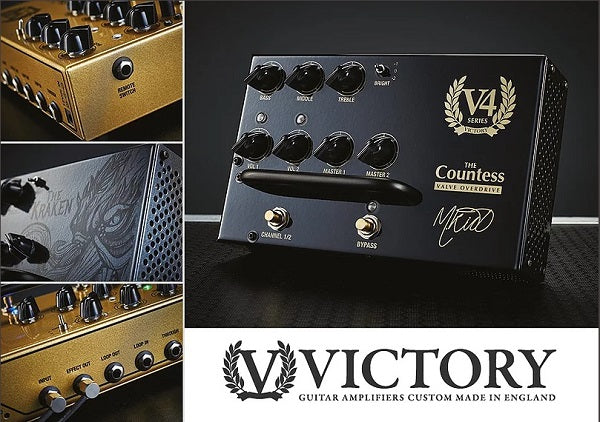 NAMM 2018: New Victory Amps - VX100 Super Kraken, MK II and All-Valve Preamp Pedals!